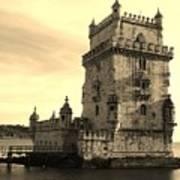 Torre De Belem Art Print