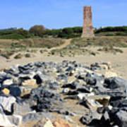 Torre De Los Ladrones At Cabopino Art Print
