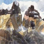 Torres Del Paine, Chile Art Print