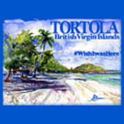 Tortola British Virgin Islands Shirt Art Print
