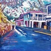 Tortola  Main Street Art Print