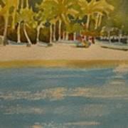 Tortuga Island Costa Rica Art Print