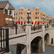 Tosa Village Bridge Art Print