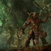 Total War Warhammer Art Print