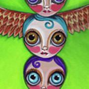Totem Dolls Art Print