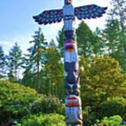 Totem Pole Art Print