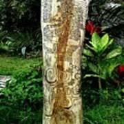 Totem Serpiente Emplumada Art Print