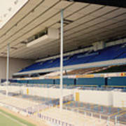 Tottenham - White Hart Lane - East Stand 3 - April 1991 Art Print