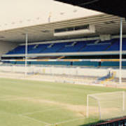 Tottenham - White Hart Lane - East Stand 4 - April 1991 Art Print