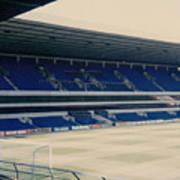 Tottenham - White Hart Lane - West Stand 3 - 1980s Art Print