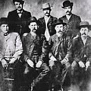 Tough Men Of The Old West Art Print