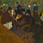 Toulouse-lautrec Moulin Rouge Art Print