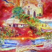 Tour Around Aguadilla Puerto Rico Art Print