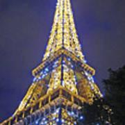 Tour Eiffel 2007 Art Print