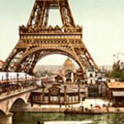 Tour Eiffel  Exposition Universelle Art Print