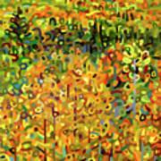 Towards Autumn Art Print