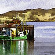 Towards Davaar From Campbeltown Art Print