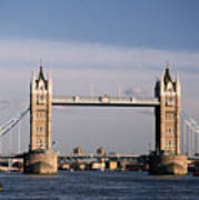 Tower Bridge - London, England Art Print