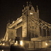 Tower Bridge Of London Art Print