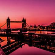 Tower Bridge, London. Art Print