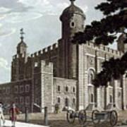 Tower Of London, 1799 Art Print