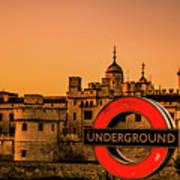 Tower Of London. Art Print