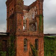 Tower Of Ruins Art Print