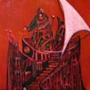 Tower Of Silence Art Print