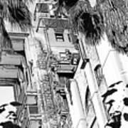 Tower Of Terror 2 Art Print