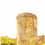 Tower Of The Castle Art Print