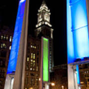 Towers Of Light Art Print