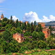 Towers Of The Alhambra Art Print