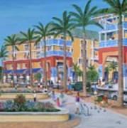 Town Center Abacoa Jupiter Art Print