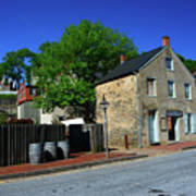Town Of Harpers Ferry Art Print