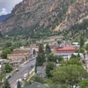 Town Of Ouray Art Print