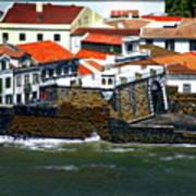 Town Of Porto Pim Art Print