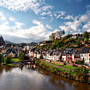 Town Of Saarburg Art Print