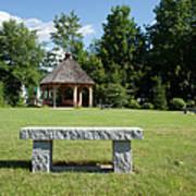 Town Park In Bartlett New Hampshire Usa Art Print