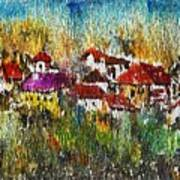 Town To Country Art Print