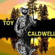 Toy Caldwell At Amber Lake 2 Art Print
