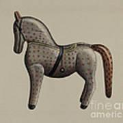 Toy Horse Art Print