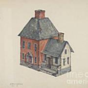 Toy House Art Print