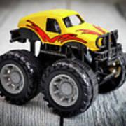 Toy Monster Truck Art Print