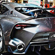 Toyota Ft-1 Concept Number 1 Art Print