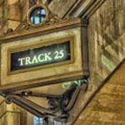 Track 25 Art Print