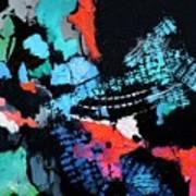 Tracking Satellites Art Print