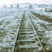 Tracks To Travel Tasmania Art Print