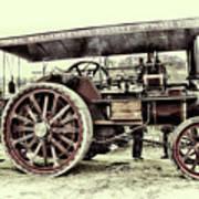 Traction Engine Art Print