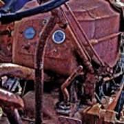 Tractor Parts Art Print