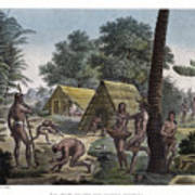 Traditional Customs Of The Chamorro Classes Art Print